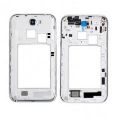 Carcasa mijloc Samsung Galaxy Note 2 N7100 Originala Alba