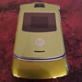 Telefon Motorola V3 verzui / impecabile, Alb, Nu se aplica, Neblocat, Single SIM, Fara procesor