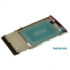 Mijloc Nokia X3-02 Touch and Type Original Roz