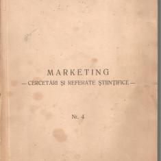 (C6347) MARKETING. CERCETARI SI REFERATE STIINTIFICE - Carte Marketing