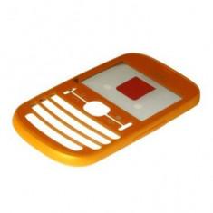 Carcasa Fata Nokia Asha 201 Mat Orange