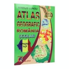 Atlas geografic Romania scolar
