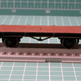Vagon platforma marca Piko scara HO(3341)