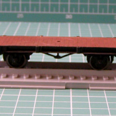 Vagon platforma marca Piko scara HO(3341) - Macheta Feroviara