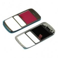 Carcasa fata Nokia Asha 302 Originala Aurie