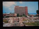 SEPT15-Vedere/Carte postala-Mangalia Sud Hotel Mangalia-circulata, Printata
