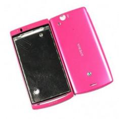 Carcasa Sony Ericsson LT15A Xperia Arc Originala Roz - Capac baterie