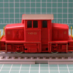 Locomotiva diesel V42 marca Fleischmann scara HO(3458) - Macheta Feroviara, 1:87, Locomotive