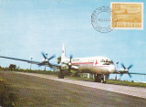 Bnk fil TAROM - IL 18 - maxima 1970, Romania de la 1950, Aviatie