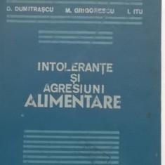 D. Dumitrascu, s.a. - Intolerante si agresiuni alimentare (1984)