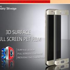 Folie Pet curbata protectie totala display-ul curbat Samsung Galaxy S6 Edge - Folie de protectie