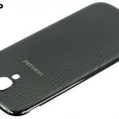Capac spate gri inchis Samsung Galaxy S4 i9500 - Husa Telefon Samsung, Plastic, Carcasa