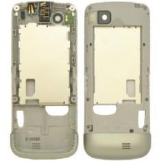 Carcasa mijloc Nokia C3-01 Originala Argintie