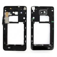 Carcasa mijloc Samsung I9100 Galaxy S II Originala Neagra SWAP