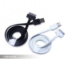 Cablu Date Usams Iphone 4/4S Alb - Cablu de date Oem
