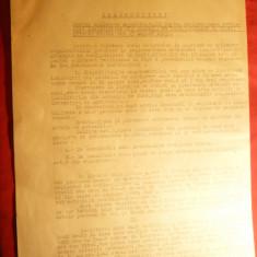 Instructiuni pt.Aplicare Regulament pt.Cetateni Ardeal Nord - MAI 1945 Monitor - Hartie cu Antet