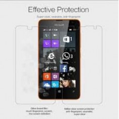 Folie protectie ecran Microsoft Lumia 430 Transparenta - Folie de protectie Oem