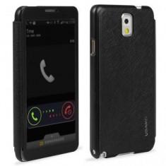 Husa Usams Freeform Series Samsung Galaxy Note 3 N9000 Neagra - Husa Telefon Oem, Plastic, Carcasa