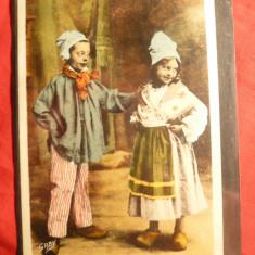 Ilustrata Costume Populare Normande - Copii