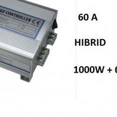 Controler Regulator Hibrid Eoliana 1600, 1000 W + Panouri Fotovoltaice 600 W