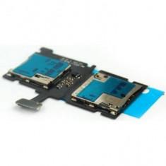 Banda cu cititor sim si card Samsung Ativ S I8750 Originala - Conector GSM