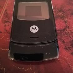 Telefon Motorola V3 NEGRU / impecabile / MODEL DEOSEBIT, Nu se aplica, Neblocat, Fara procesor