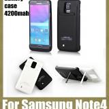 POWER BANK CU BUMPER EXTERN PT.SAMSUNG NOTE 4, TE TINE BATERIA TRIPLU.NOU. - Baterie externa Samsung, Samsung Galaxy Note 4