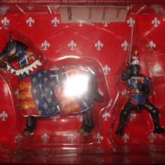 3061.Calaret din plumb Cavaler medieval Franc
