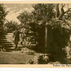 2143 - GALATI, Park and Grotto - old postcard - used - Carte Postala Moldova 1904-1918, Circulata, Printata