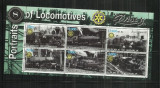 [ 35 ]  LOCOMOTIVE    -  SOMALIA      - BLOC  STAMPILAT