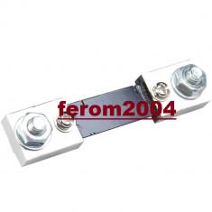 Shunt ( sunt ) pentru ampermetru digital, 100A, 75mV, model FL-2