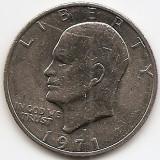 "Statele Unite (SUA) 1 Dolar 1971 - ""Eisenhower Dollar"", 38.1 mm, KM-203 (3), America de Nord"