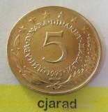 Moneda 5 Dinari - RSF YUGOSLAVIA, anul 1971 *cod 1544 XF+