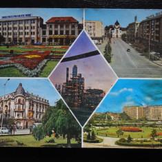SEPT15-Vedere/Carte postala-Ploiesti-Intreg postal-circulata, Printata