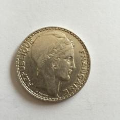 20 Francs 1933 FRANTA MONEDA ARGINT, Europa