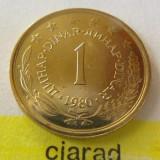 Moneda 1 Dinar - Yugoslavia 1980 *cod 1562