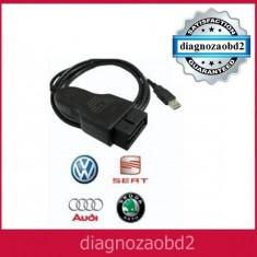 Interfata diagnoza tester auto OBD2 OBD-II Diagnostic VAG.COM KKL 409.1