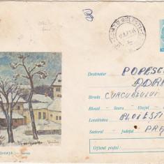 bnk fil Intreg postal circulat - D Ghiata - Iarna