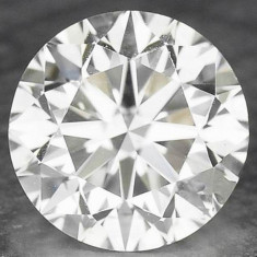 DIAMANT NATURAL ALB-certificat de autenticitate-0,25ct.-3,80 mm - SUPER PRET ! !, Briliant