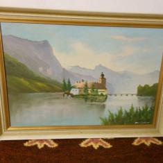 Tablou de la Muller din Germania - Pictor strain, Peisaje, Pastel, Realism