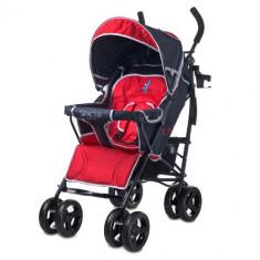 Carucior Spacer Deluxe red - Carucior copii 2 in 1 Caretero