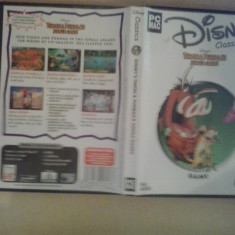 Joc PC MAC - Disney Classics Timon & Pumbaa's jungle games (GameLand ) - Jocuri PC Disney, Actiune, 3+, Single player