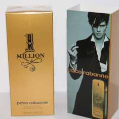 Apa de toaleta Paco Rabanne 1 Million Parfum de barbat Made in France - Parfum barbati Paco Rabanne, 100 ml