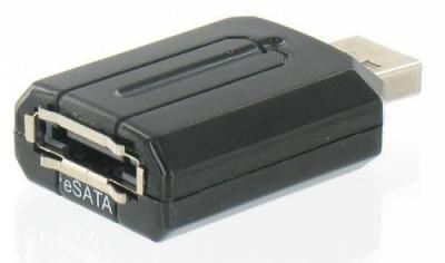 Adaptor Sunplus USB la eSATA Bridge foto