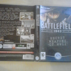 Joc PC - Battlefield 1942- Secret weapons of WW II (GameLand) - Jocuri PC Electronic Arts, Shooting, 18+, Single player
