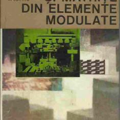 C. Dumitras - STANTE SI MATRITE DIN ELEMENTE MODULATE - Carti Metalurgie