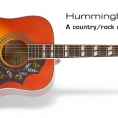 Chitara electro-acustica Epiphone Hummingbird PRO