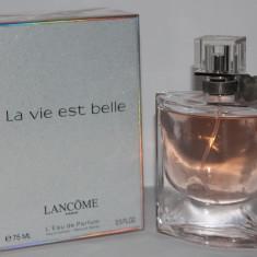 Lancome La Vie Est Belle Apa de Parfum pentru femei FOARTE PERSISTENT RECOMAND - Parfum femeie Lancome, 75 ml