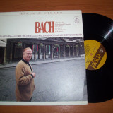 BACH - YEHUDI MENUHIN/GEORGE MALCOM  disc vinil LP vinyl pick-up pickup