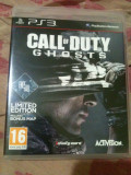 call of duty ghost limited edition ps3  -include bonus map